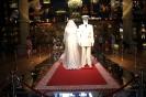свадебный наряд принца и принцесы Монако