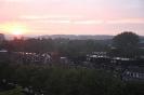 Заход солнца в Вагенингене (Нидерланды)