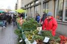 Центральный рынок Риги перед Рождеством