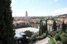Вид на Верону с холма исторического музея и театра